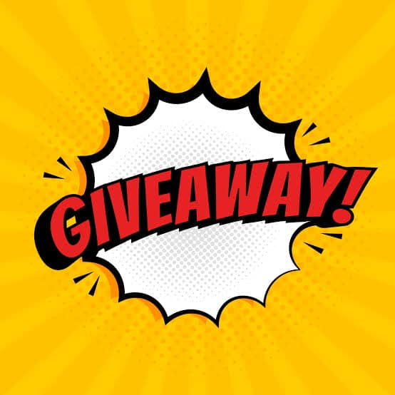 Giveaway time… enter on our Facebook page